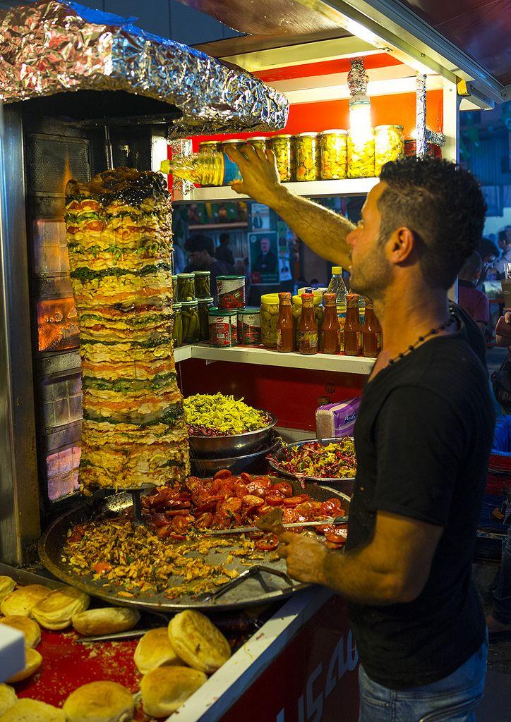 Kebab Restaurant Suleymanyah Kurdistan Iraq Kebab Kurdish Food Iraq