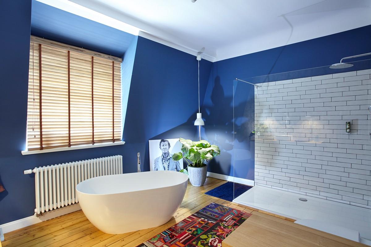 Mitte jahrhundert badezimmer dekor altbauvilla in neuem glanz u modern saniert wohnliches badezimmer