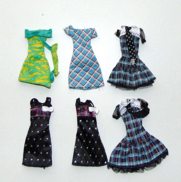 можете картинки разных платьев для кукол они