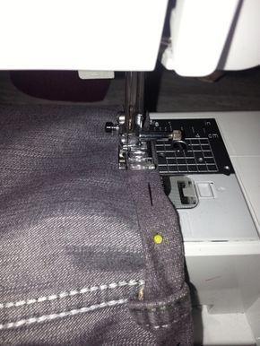 comment faire un ourlet de pantalon atelier couture faire un ourlet comment faire un. Black Bedroom Furniture Sets. Home Design Ideas