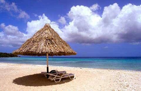 Bahía de Santa Marta, en Curaçao (Las Antillas)