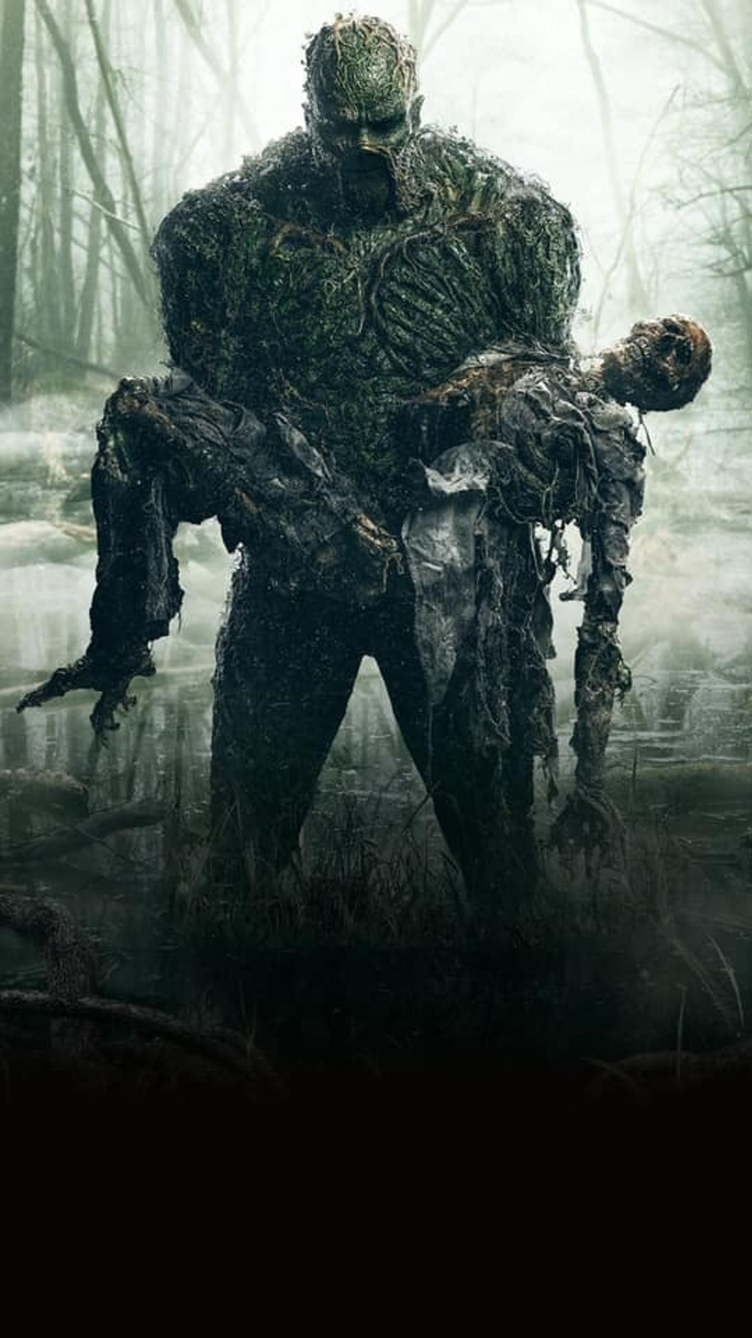 Swamp Thing Phone Wallpaper | Moviemania #swampthing