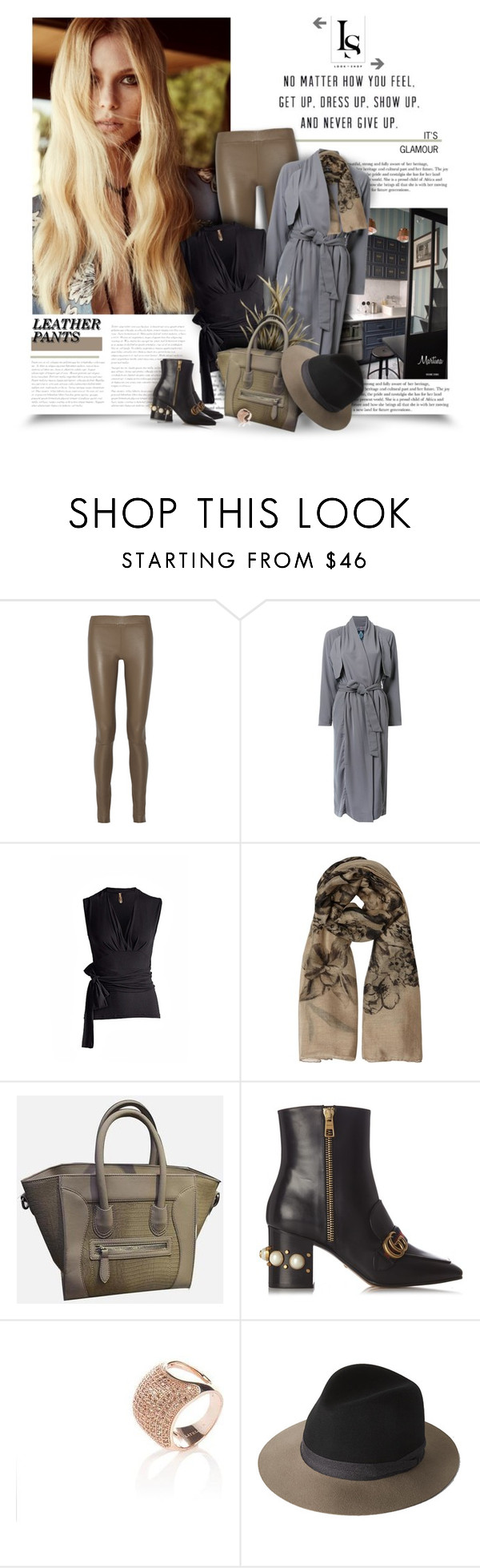 """""""Everyday Is A Second Chance"""" by thewondersoffashion ❤ liked on Polyvore featuring The Row, Guild Prime, Valentino, Gucci, rag & bone, TheRow, gucci, ragandbone, lookshop and guildprime"""