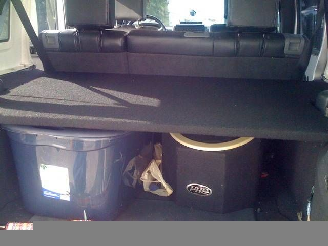 Jeep Jk Unlimited Rear Cargo Shelf Diy Expedition Portal