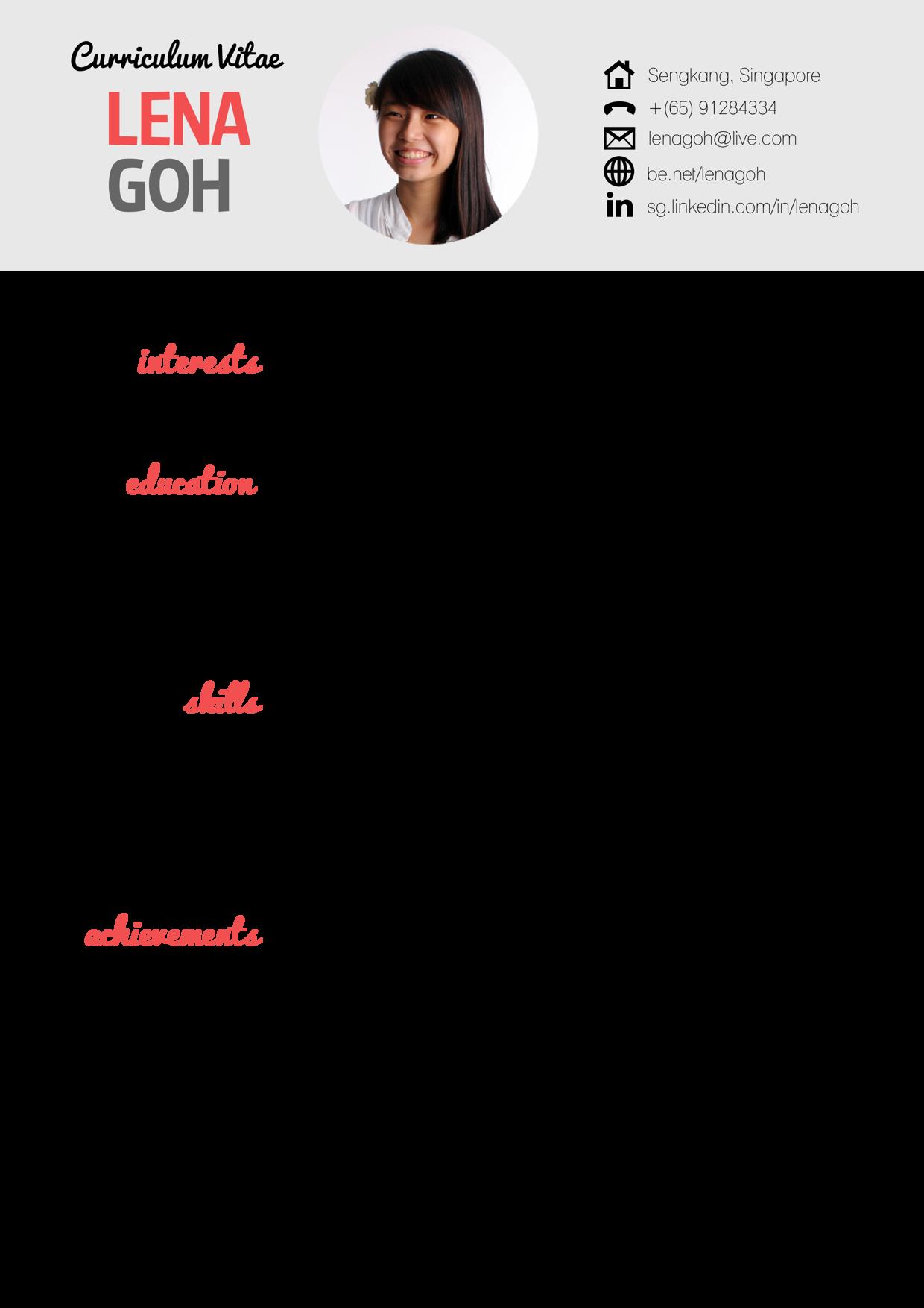 Pin de May Ibalio- en CV maken   Pinterest