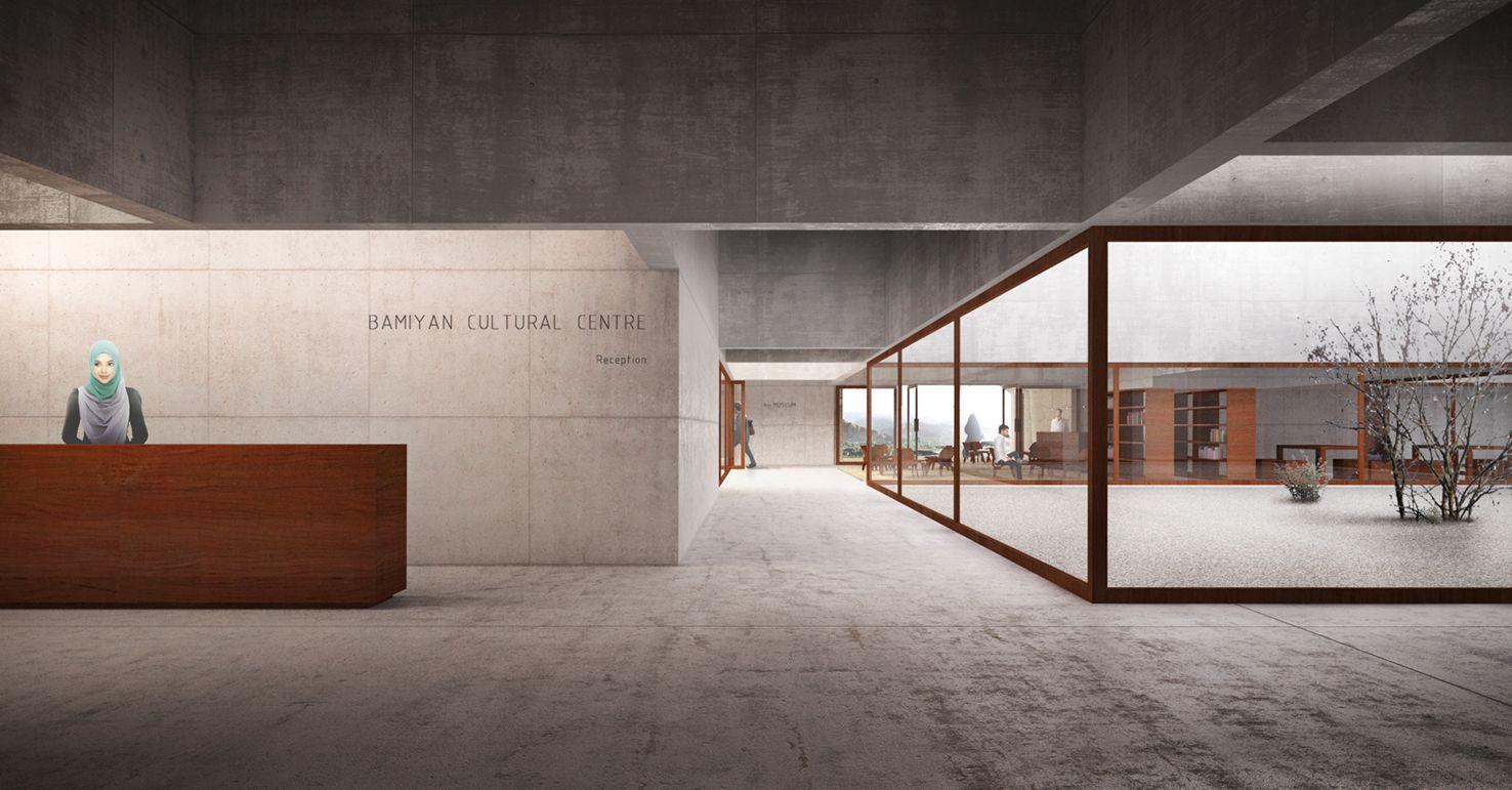 A f a s i a: gsmm . boretti museum exhibition rendering
