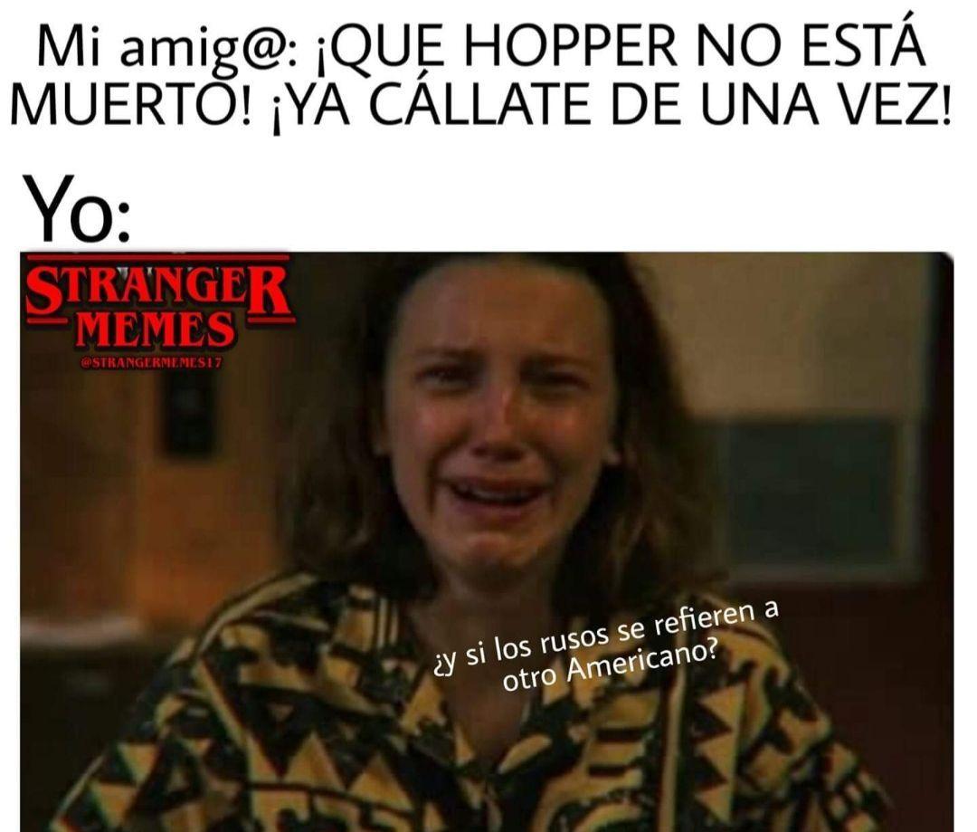 Stranger Things Memes Memes Memes De Stranger Things Memes Divertidos Stranger Things En Espanol
