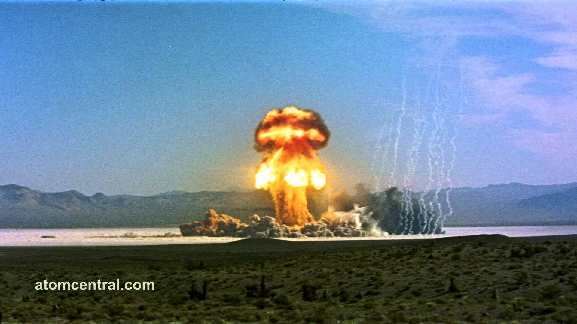 Atomic Bomb - wide shot