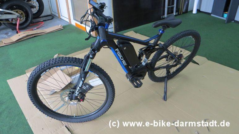 Nach Endmontage Fischer E Bike Proline Evo Em 1609 Pedelec E Bike E Mtb