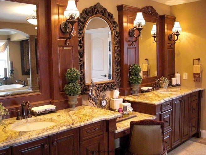 Luxury Bathroom Vanity Accessories Sets For Wooden Vanity