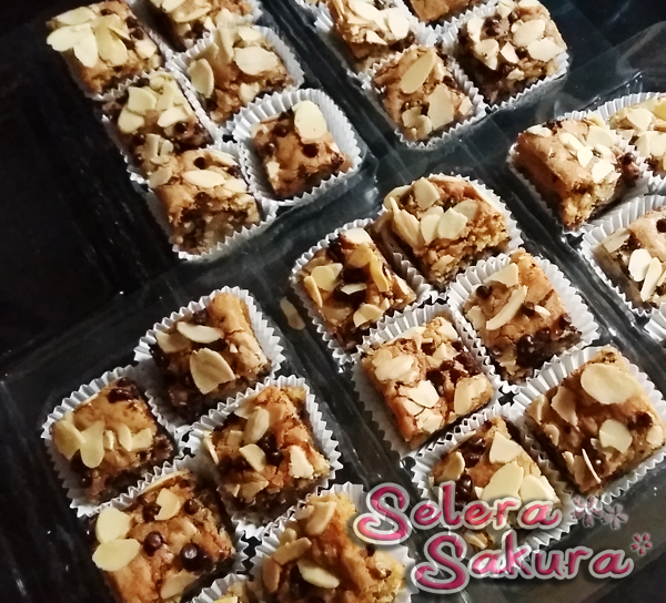 Chewy Congo Bars Resepi Pilihan Saya Selera Sakura Chewy Congo Bars Food Blog