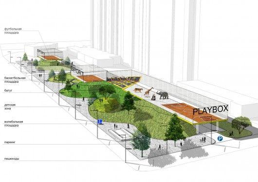 Playbox. image courtesy of buromoscow bureau architecture