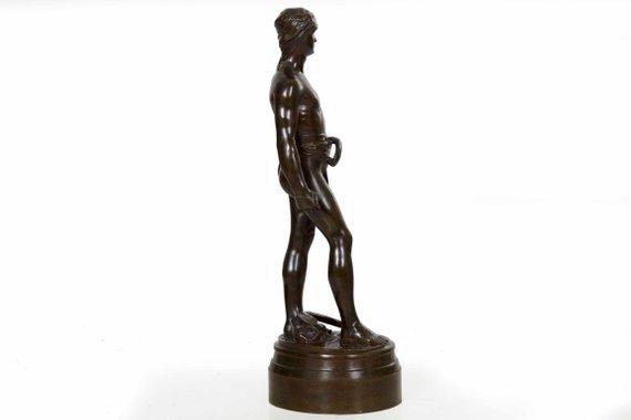 Bronze Sculpture Bronze Anniversary French Statue Of