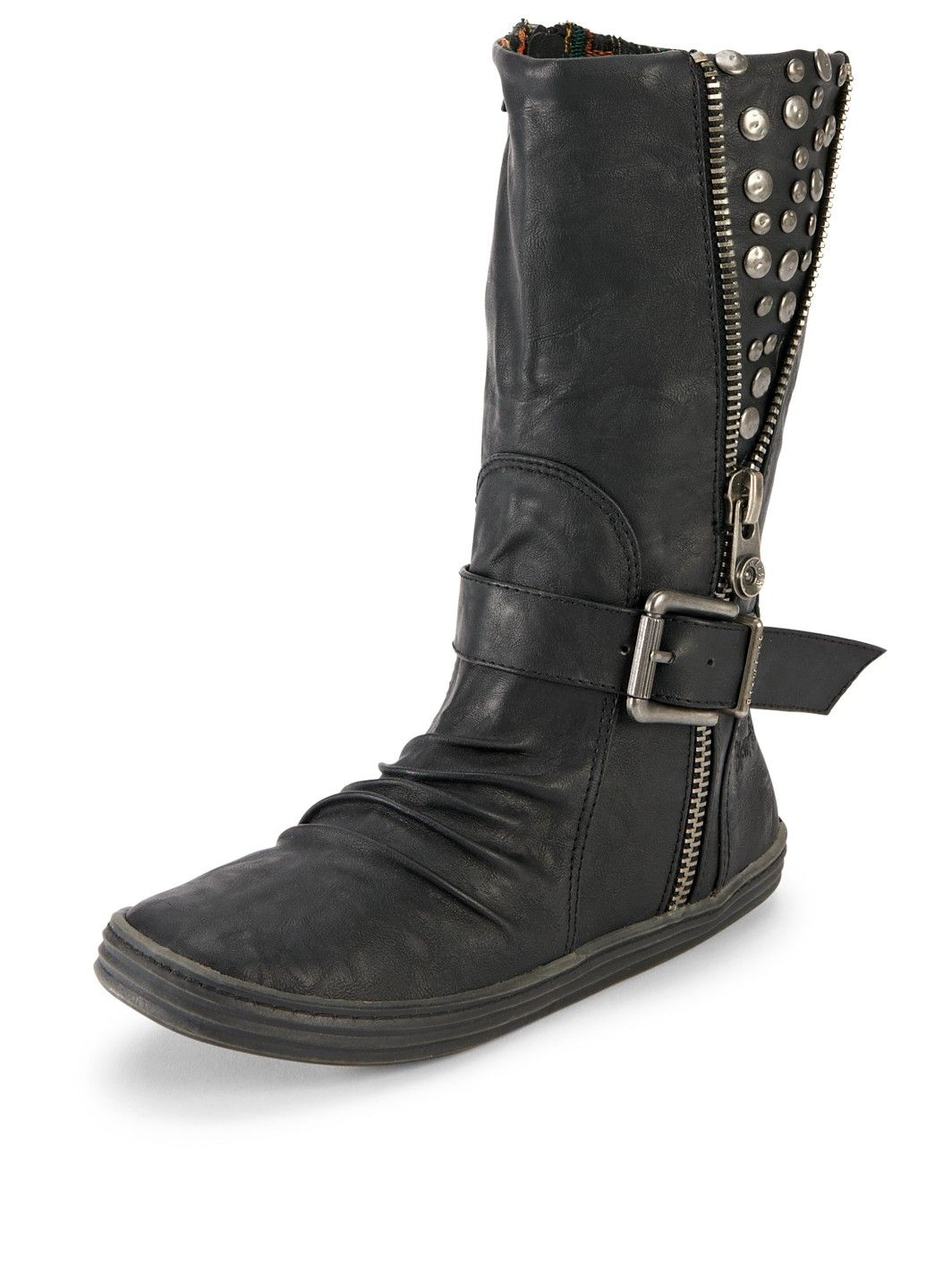 Blowfish Rack Up Studded Calf Boots | very.co.uk