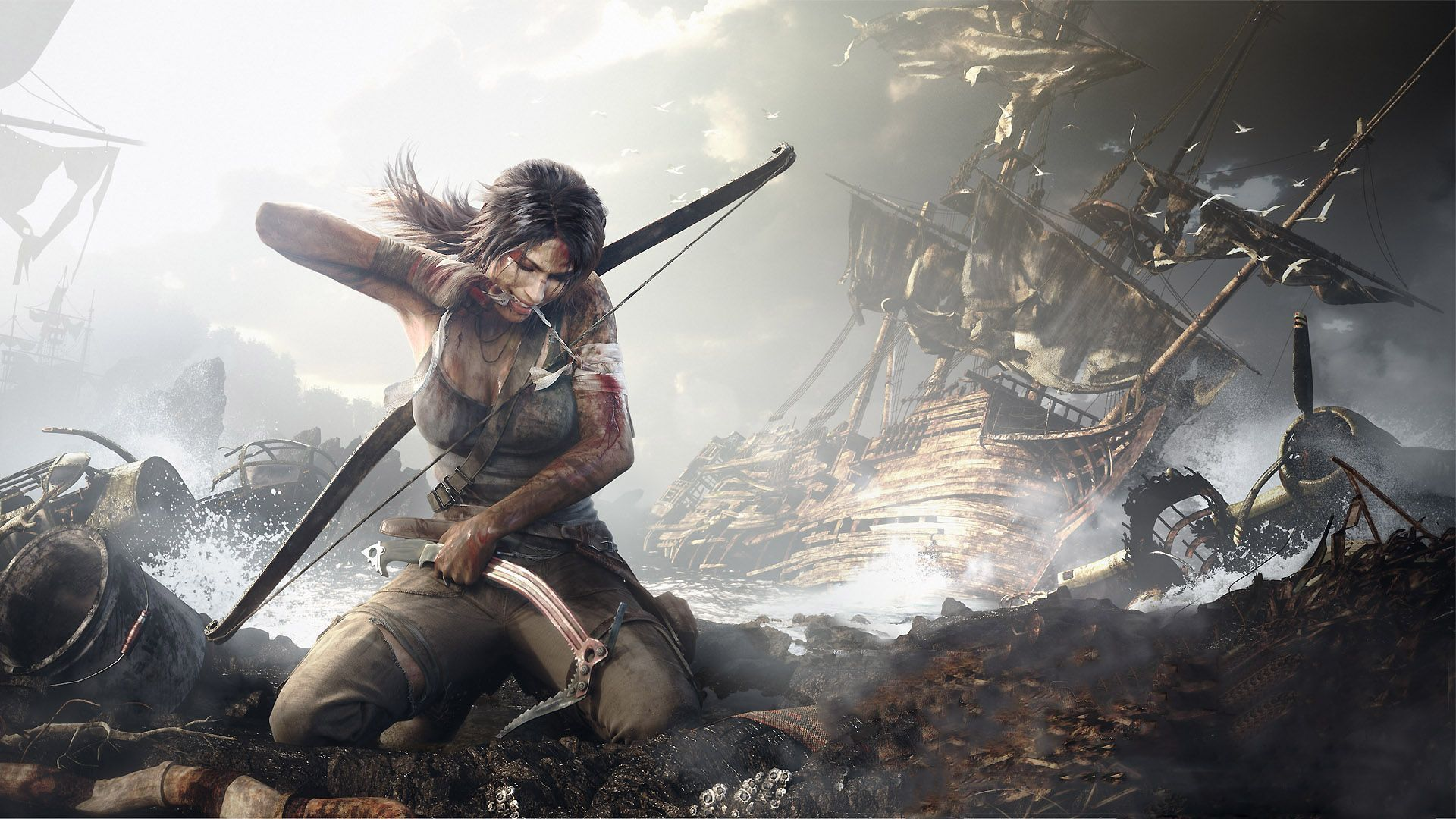 Rise Of The Tomb Raider Hd Desktop Wallpaper Widescreen