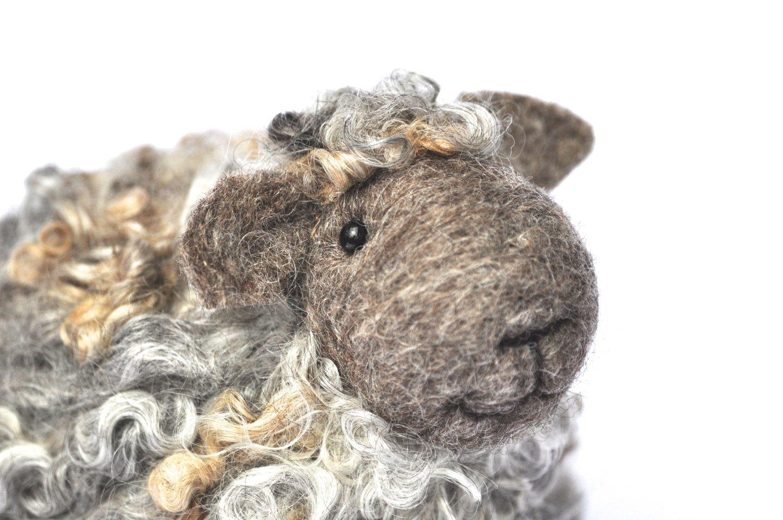 Needle Felted Sheep by Teresa Perleberg