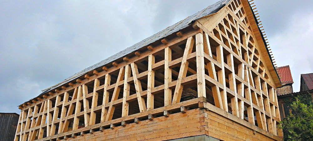 Bevorzugt Fachwerkhaus-selber-bauen-rohbau | TIMBER FRAME-FACHWERK in 2019 IS22