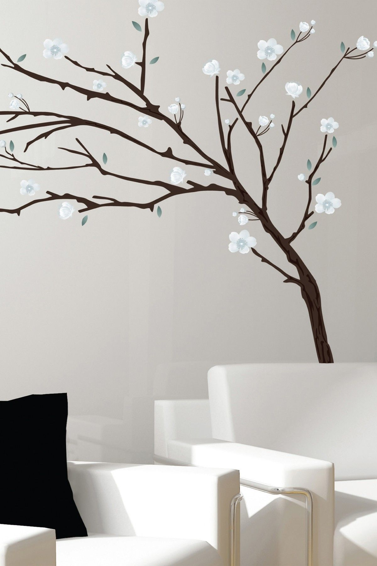 Art Applique Branches Removable Wall Decal Set Wall Sticker