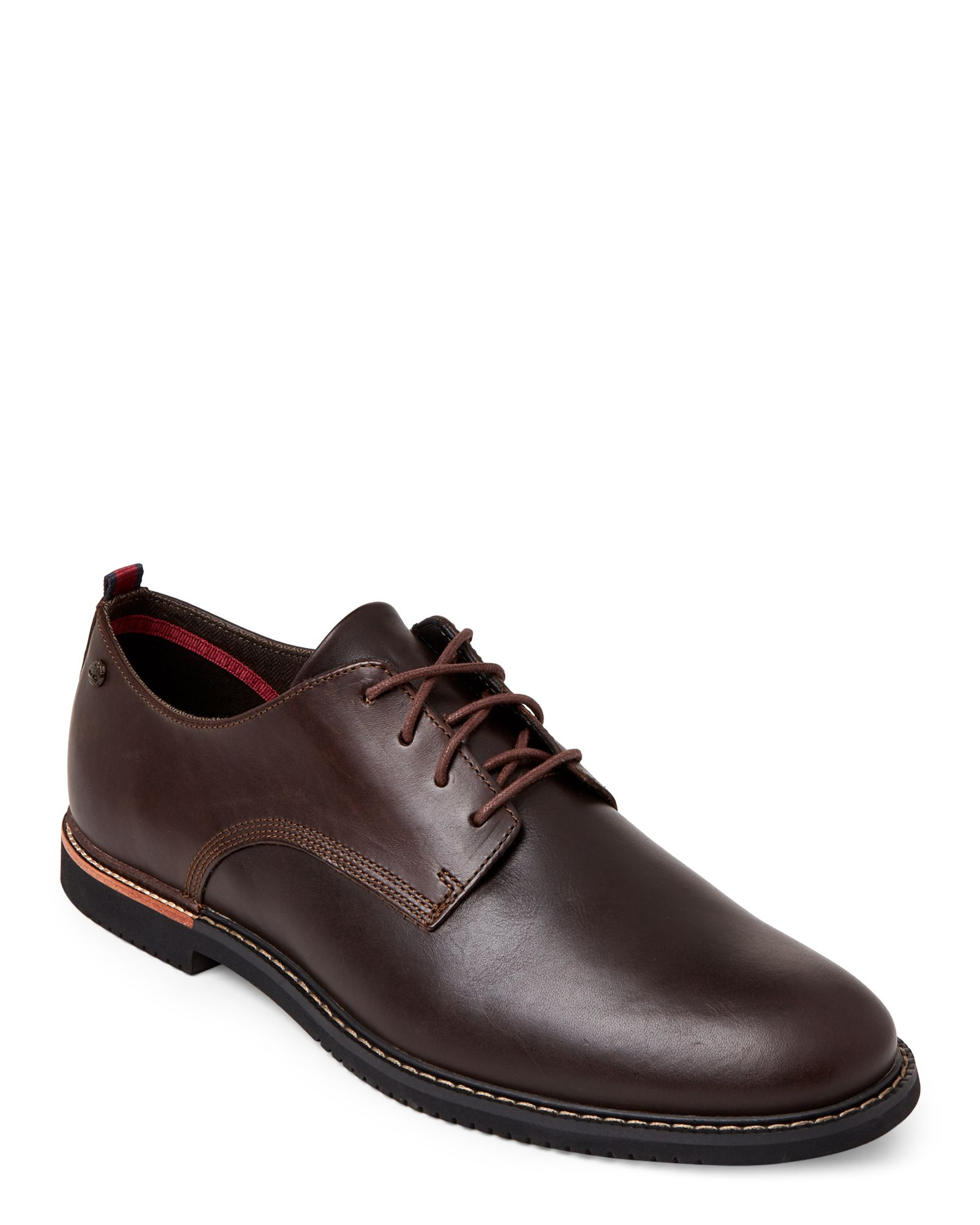 Timberland Brown Brook Park Leather Oxfords | *Apparel