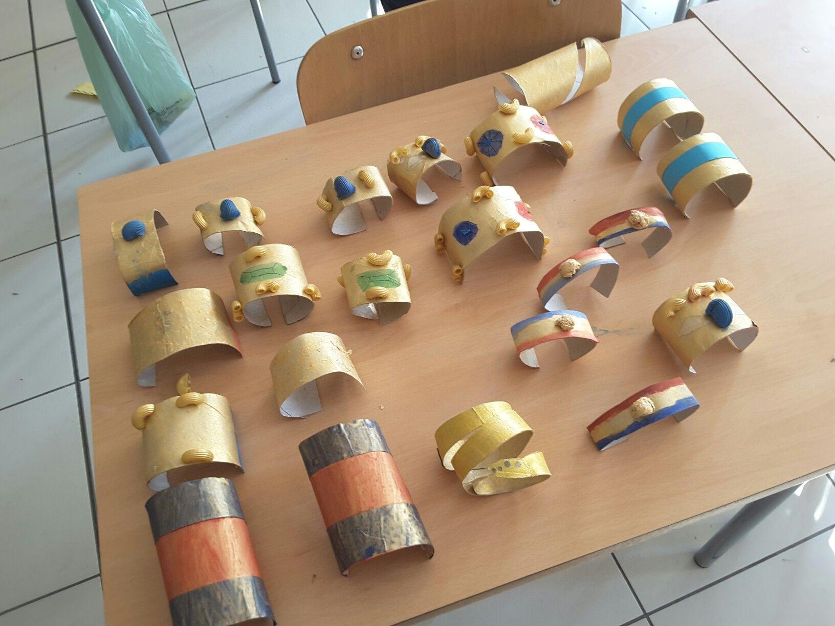 Bracciali egizi