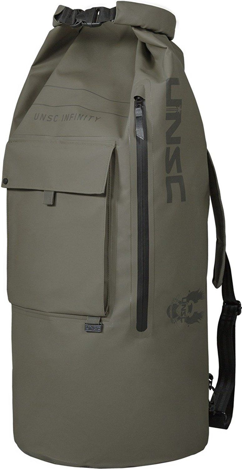 4ccf57c7eceb Musterbrand Halo Dry Bag UNSC Top-Loader Green One size Sale 50%. Now only   52.95