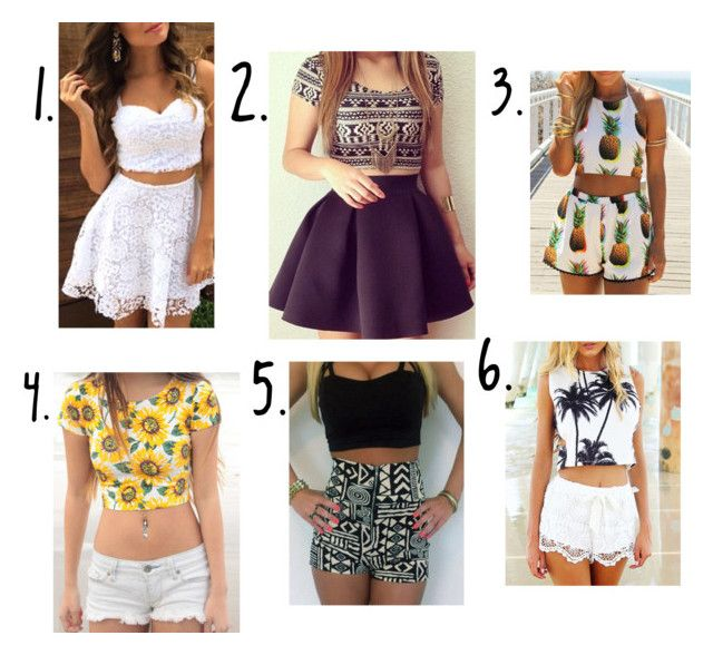 """Which is your favourite tell me in the comments"" by madeleineunicorn ❤ liked on Polyvore"