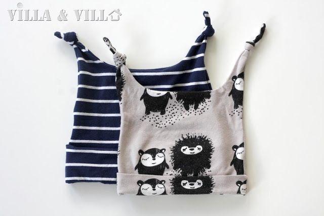 Villa ja Villa: DIY vauvan tai taaperon solmupipo