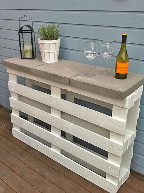 Interesting DIY ideas to do with pallets for the garden