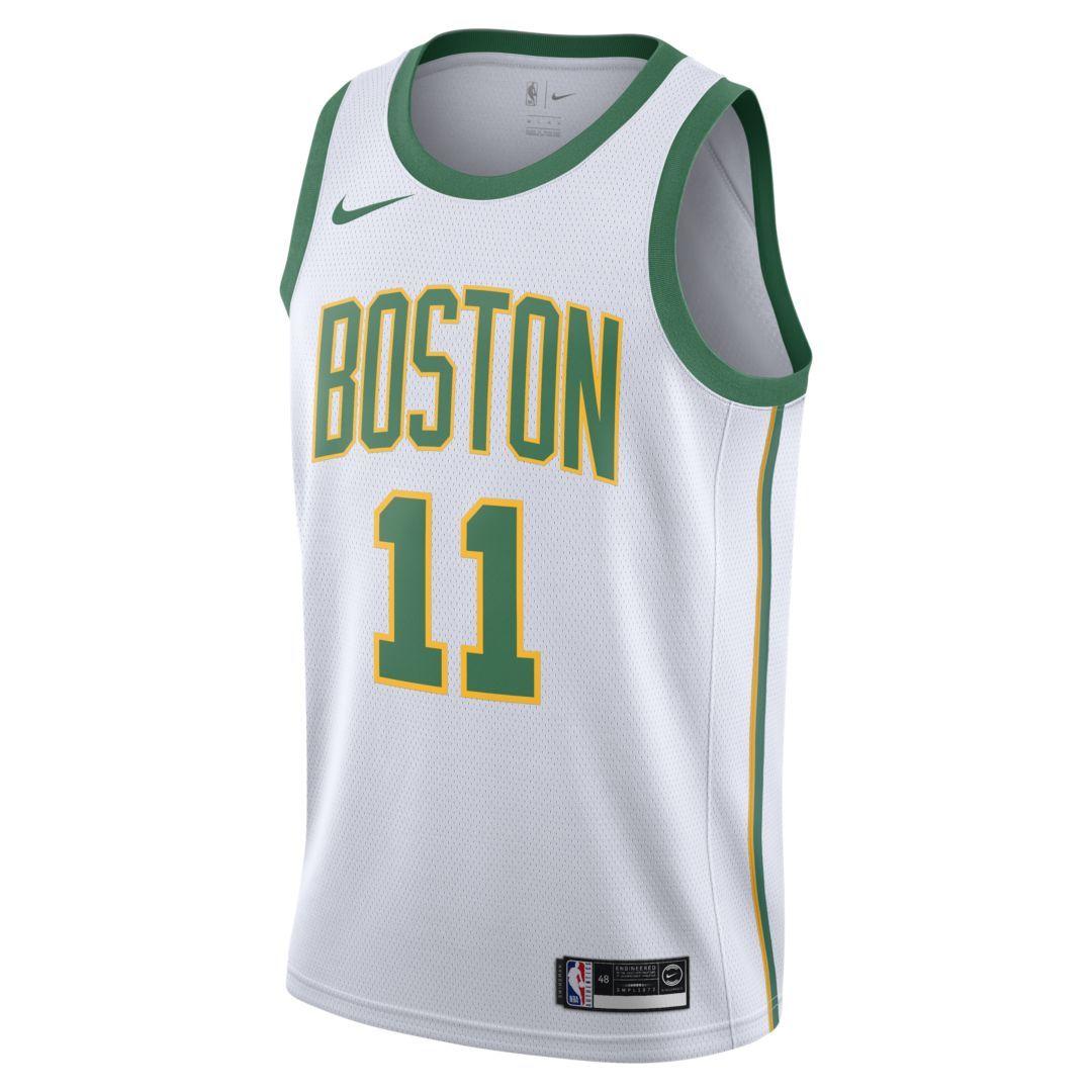 2489cda2a73 Kyrie Irving City Edition Swingman (Boston Celtics) Men's Nike NBA  Connected Jersey Size 2XL (White)