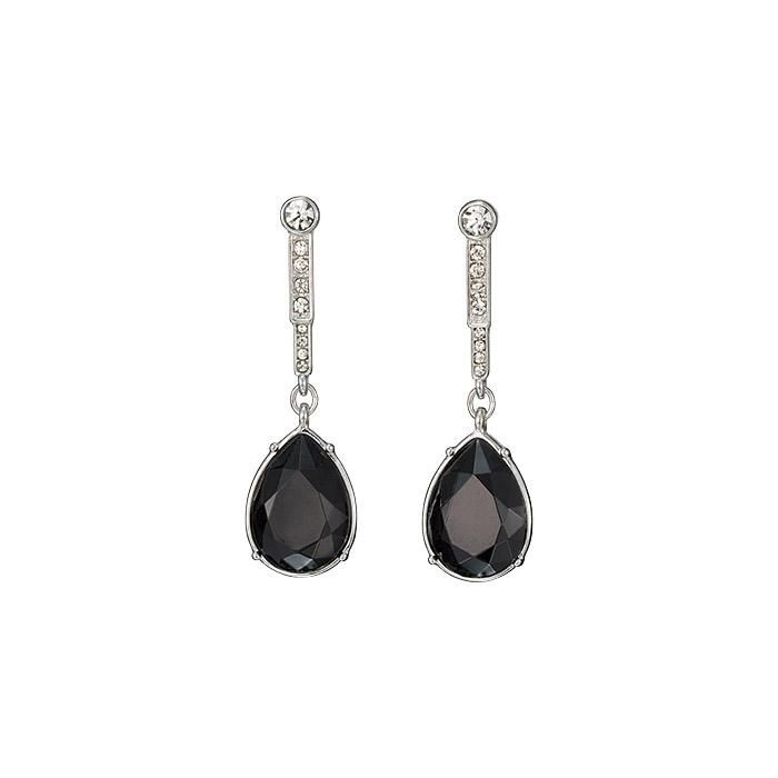Modern Glamour Jet Drop Earrings Get On The Best Dressed List With This Sparkling Stunner From Collection