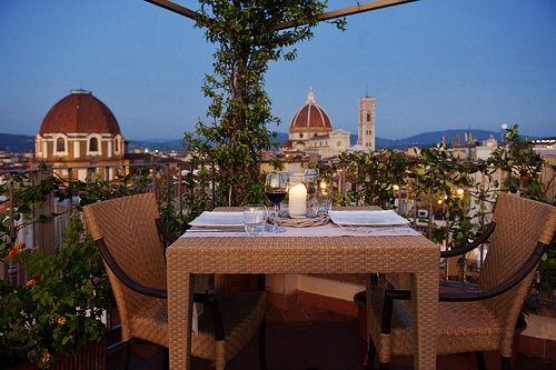 Aperitivo Sulla Terrazza Brunelleschi Florence