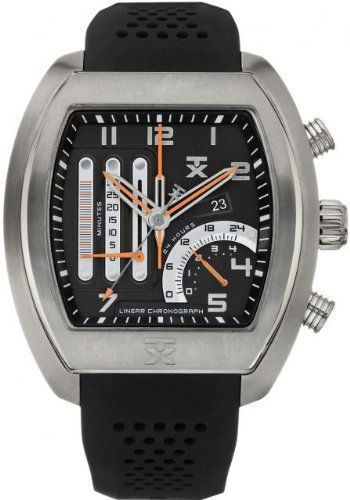74b537247 Did you know there are Times watches over $500.00? Timex-TX-Luxury-Mens -830-Series-Linear-Duo-Chronograph-Black-Watch-T3C489-NEW
