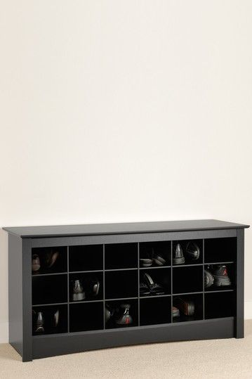 Prepac Sonoma Shoe Storage Cubbie Bench At The Home Depot Mobile