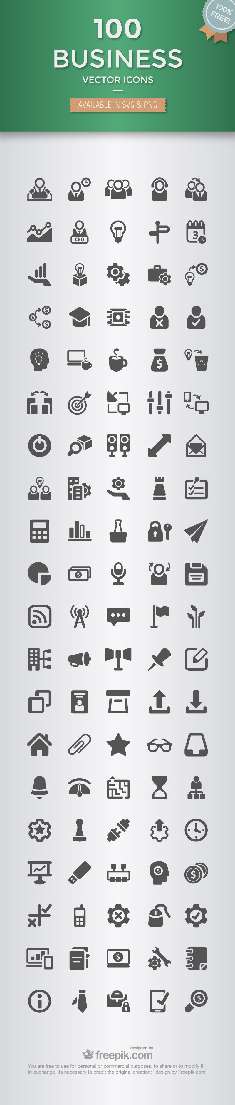 100 Icones Business A Telecharger Gratuitement Business Icon Icon Business Icons Vector