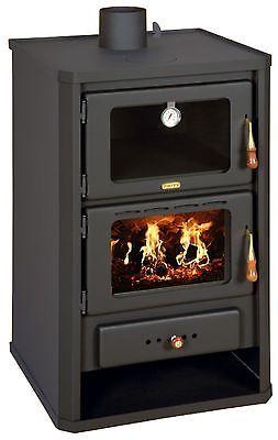 Wood Burning Stove Oven Cooking Fireplace Log Burner Solid Fuel
