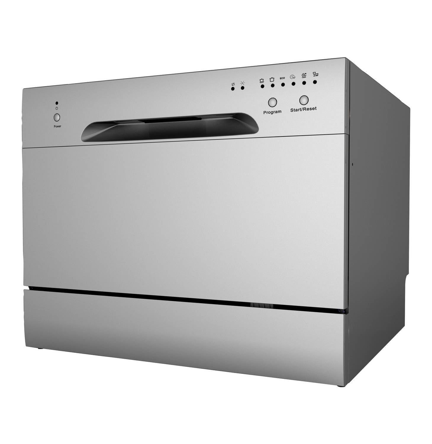 Swan 6 Place Table Top Dishwasher Silver Finish Lowest Prices