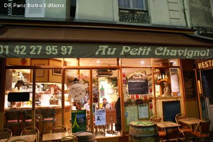 Restaurant in Paris : Au Petit Chavignol