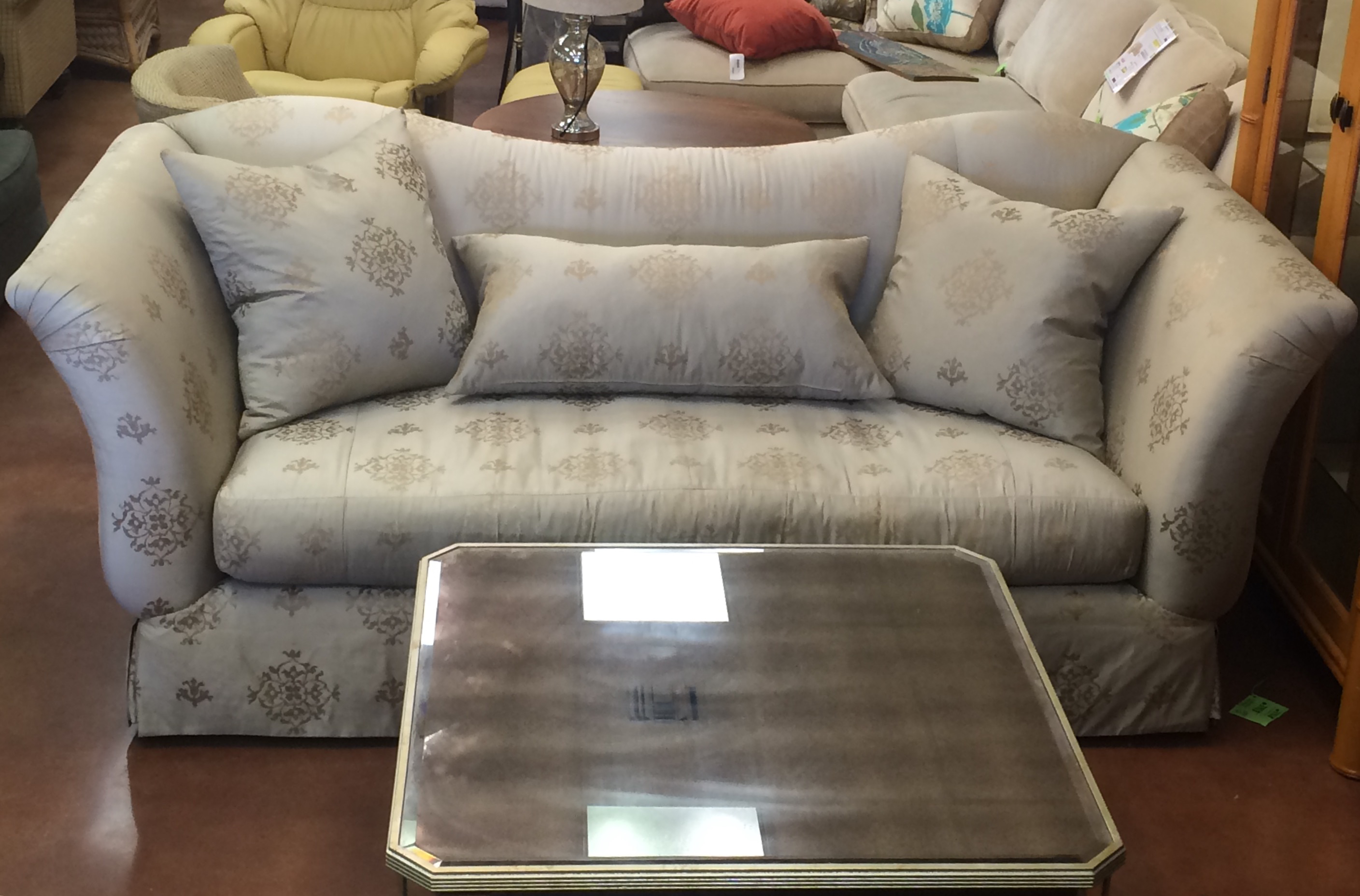 Stop In At Our South Naples Location Ave.) TODAY, To See This Gorgeous Silk  Sofa By Marge Carson And Many, Many More Exciting New Arrivals!