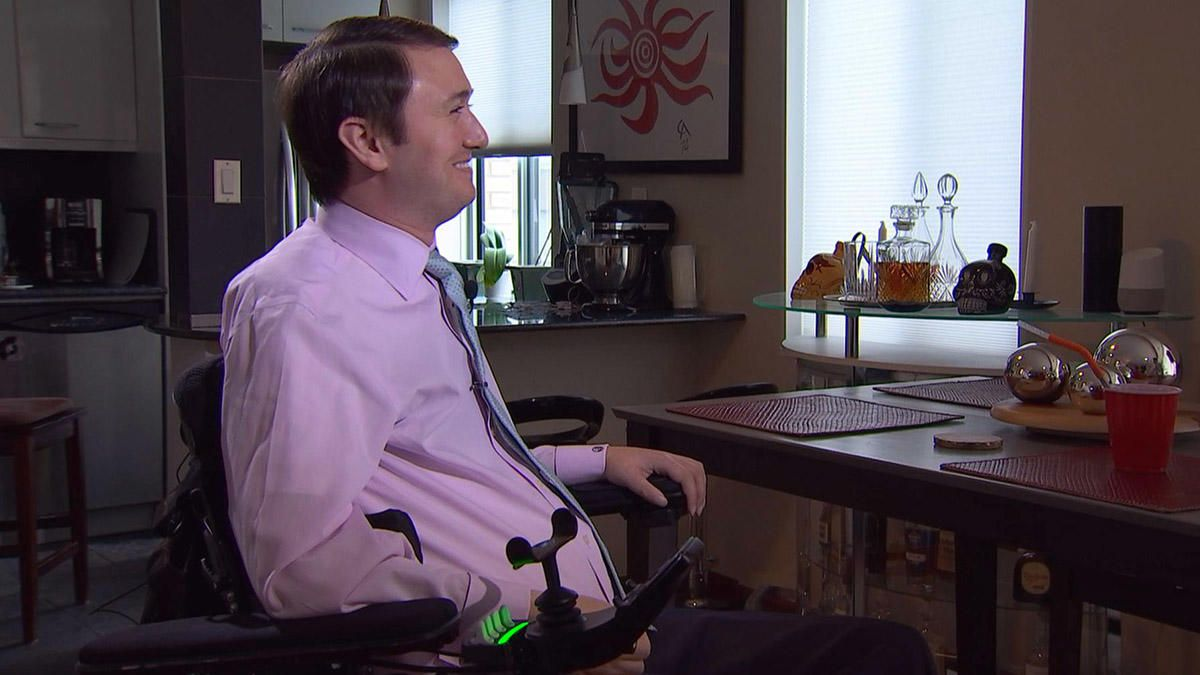 Quadriplegic Attorney Must Choose Between Job and Nursing