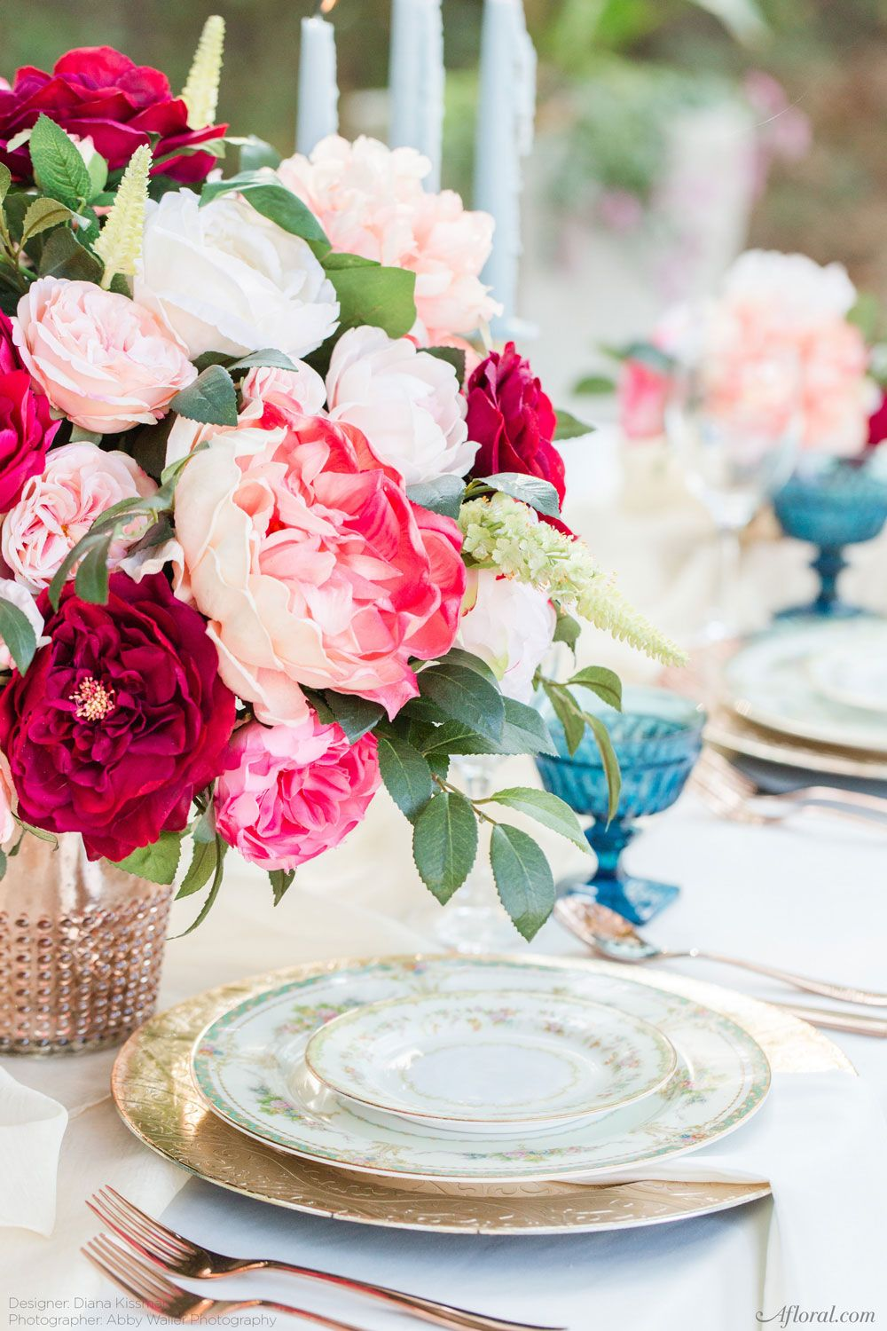 Create Lasting Centerpieces With Silk Flowers From Afloral