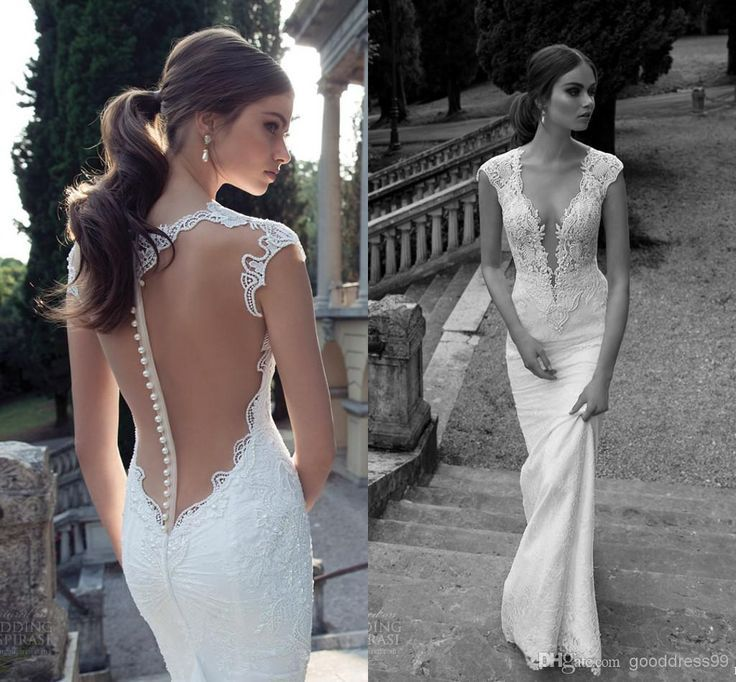 Wholesale Mermaid Wedding Dresses - Buy - Berta Winter 2014 Lace ...