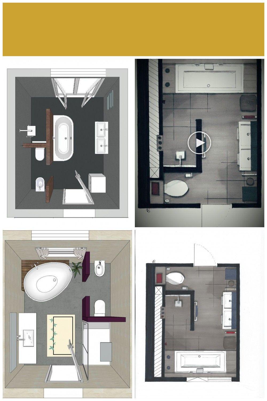 Badezimmer Aufteilung Grundriss In 2020