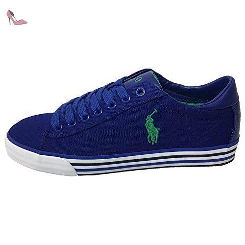 POLO RALPH LAUREN homme baskets basses HARVEY-NE 42 blu - Chaussures polo  ralph lauren 27fac15acbf