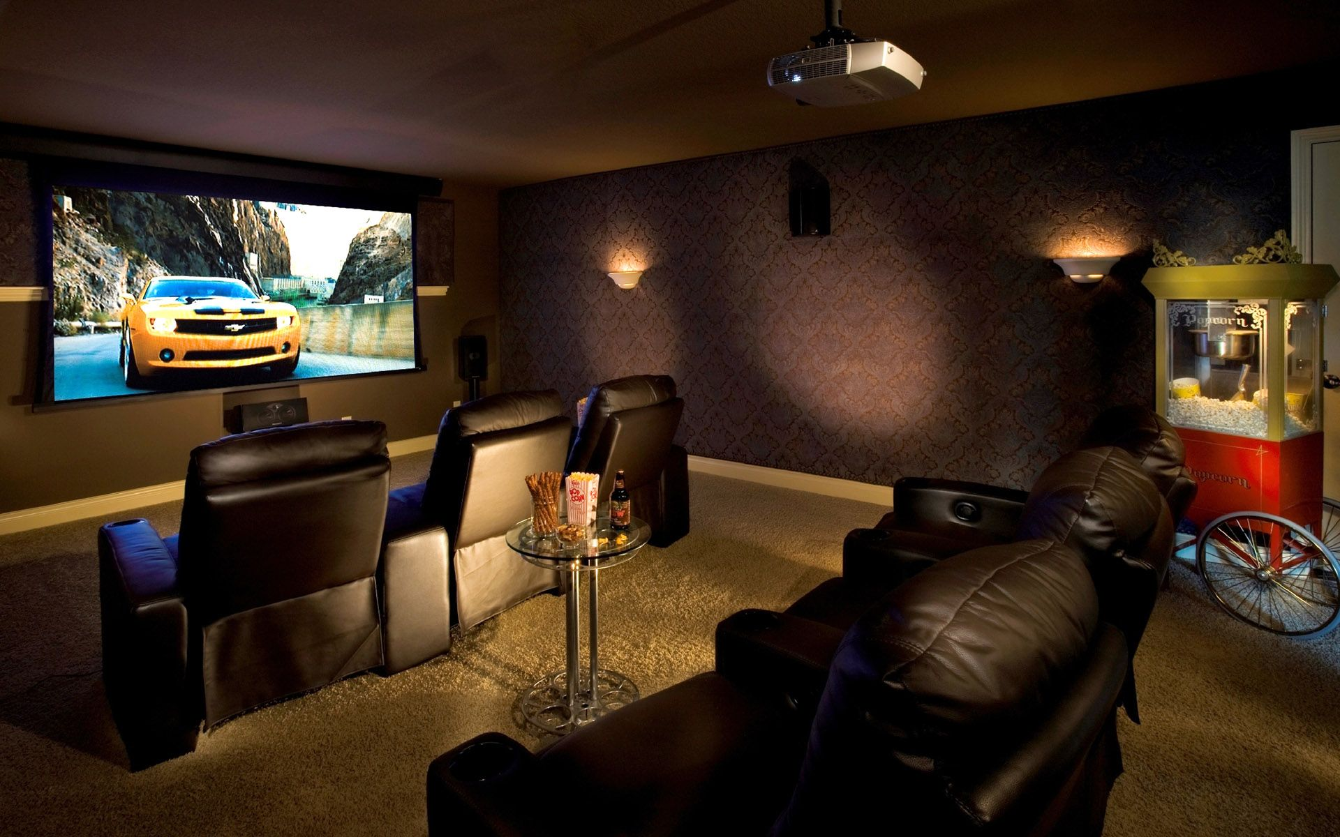 Home Theater Design Plans Hd Home Decor Wallpapers Pinterest