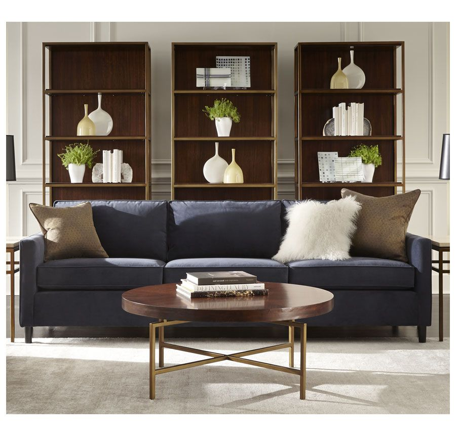 Ah This Is It Living Room Sofa In A Gorgeous Blue Color Martin