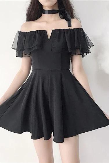 Shoulder Short Dance Dresses