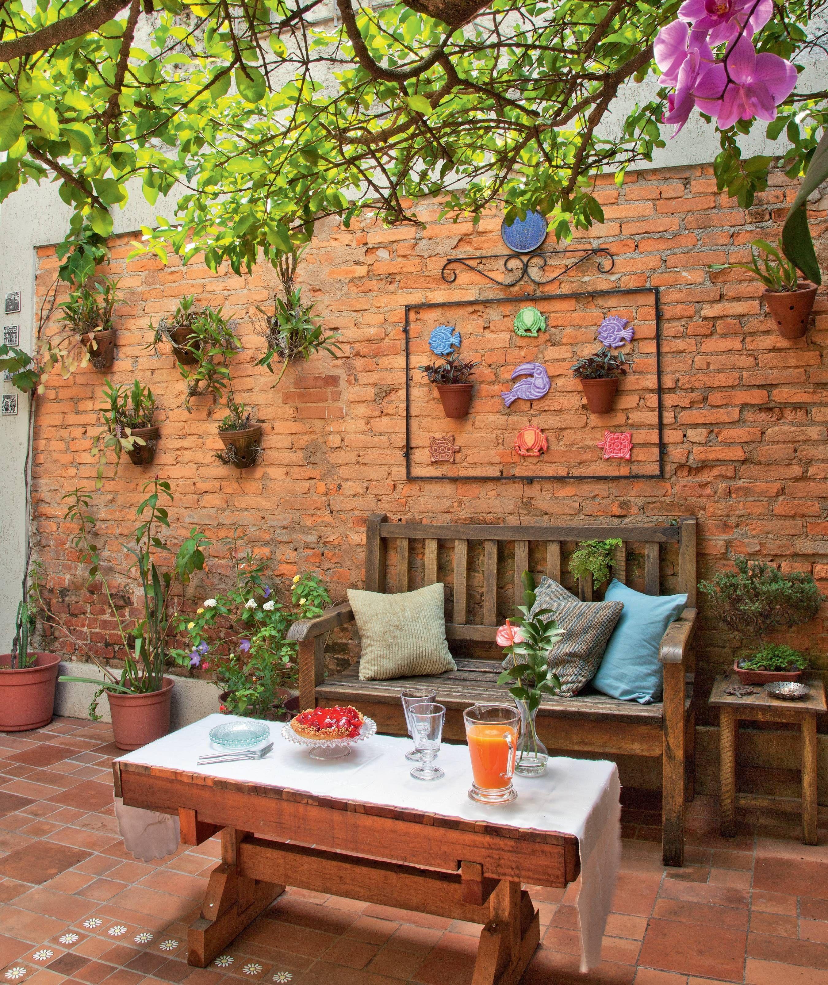 9 Quintais Charmosos Repletos De Plantas Jardins Pequenos