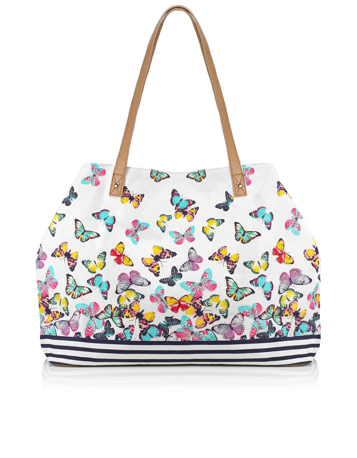 Butterfly Tote Bag | Multi | Accessorize | Color | Pinterest | The ...