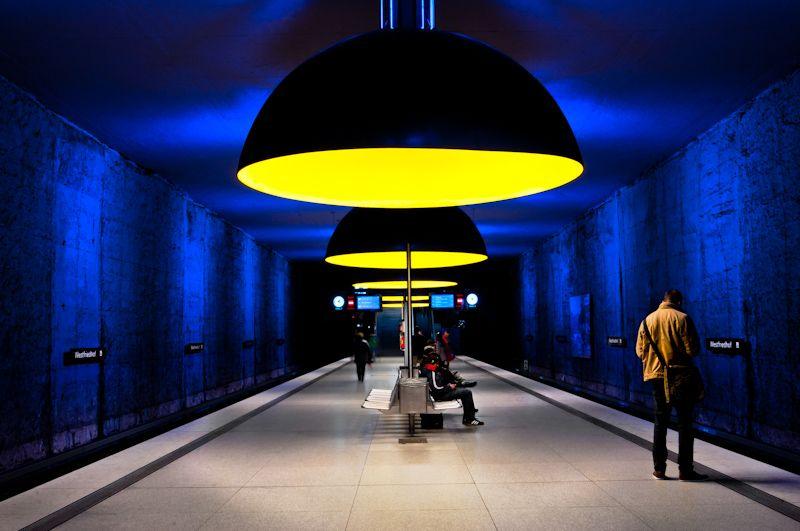 U-Bahn, Metro (Underground) - Munich, Germany