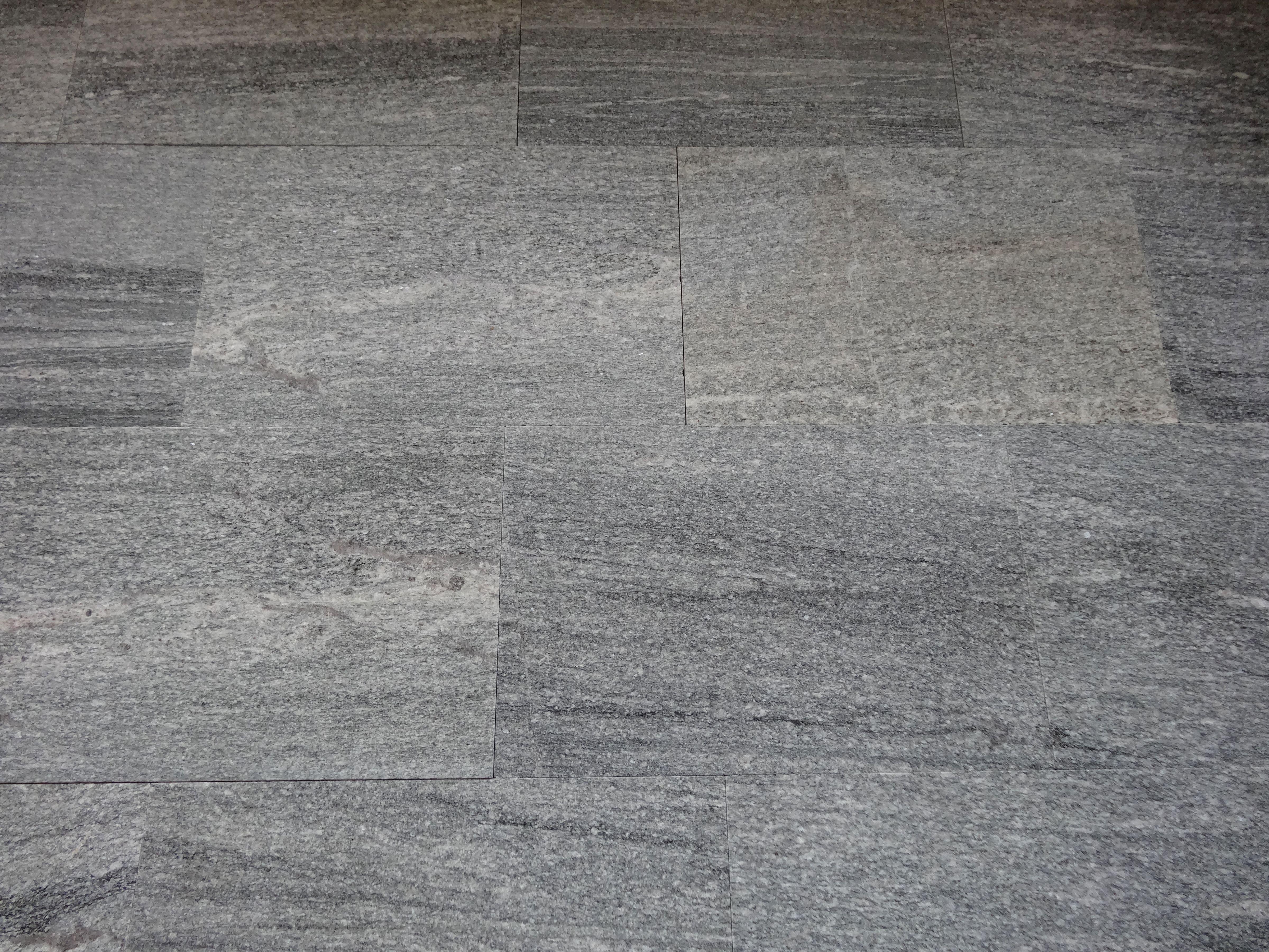 Granitplatten Urban Grey Line Natursamt Geburstet Garten Modern